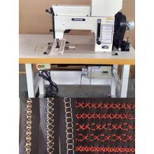 Máquina de costura decorativa de couro controlado por cams