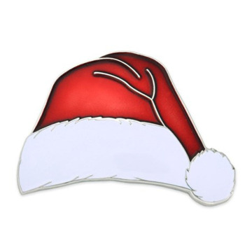 Samling Metal Christmas Santa Lapel Pin