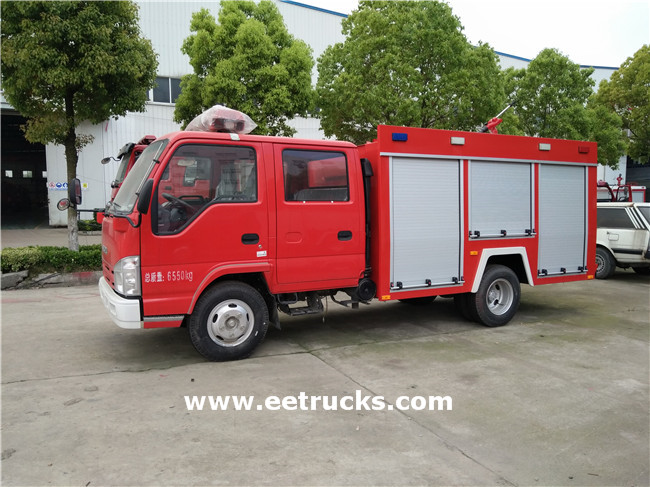 Fire Tanker Trucks