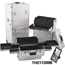 professional cosmetic trolley cases can be split into 2 parts-cosmetic case and cosmetic trolley case