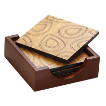 New Wooden Tray and Cushionwith Laser for Home