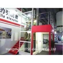 steel belt platform lift small home lift for wheelchair