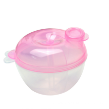 Easy To Carry Pumpkin Shape Baby Milk Powder Dispenser Container Travel