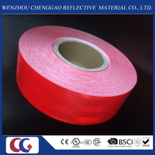 Clear Red Adhesive Micro Prismatic Diamond Grade Type Reflective Material