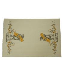 Fabricante personalizado de lino lino cocina paños de cocina
