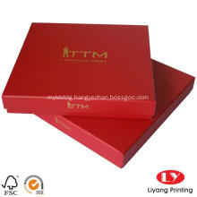 Logo Hot Stamping Scarf Packing Box