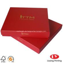 Logo Hot Stamping Schal-Verpackungsbox