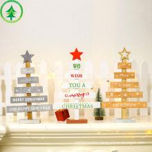 Wooden Christmas Decoration for Home Christmas Tree Pendant Christmas Wood Ornaments Navidad New Year 2020