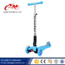 2017 neue modell 3 räder kinder roller / CE übergeben kick roller kinder / Großhandel mini smart günstige kinder roller