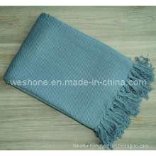 Bamboo Throw, Bamboo Blanket, Bamboo Fiber Throw Bb-09122