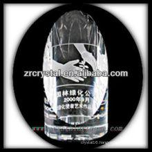 attractive design blank crystal trophy X029