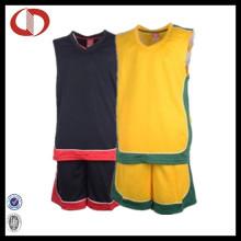Novo estilo melhor design de jersey de basquete para o homem