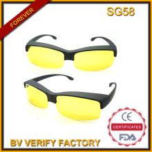 Sg58 безопасности солнцезащитные очки с желтой линзой