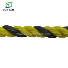 Factory Selling PE/HDPE/Nylon/Polyethylene/Plastic/Fishing/Marine/Mooring/Twist/Twisted Tiger Rope