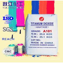 Langzeit-Wetterfestigkeit Anatase TiO2 Pulver für Straßenfarben