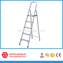 household 5step ladder,folding step ladder,aluminium stair