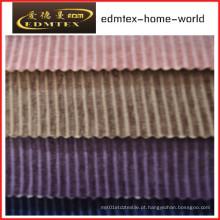 Tecido liso do Chenille para a embalagem do sofá nos rolos (EDM0238)