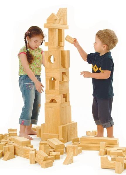 wood like EVA building block
