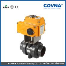 12v 24v 110v 220v 380v электрический шаровой клапан ПВХ