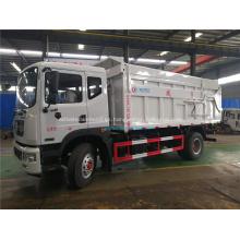 Dongfeng D9 (12m3) camión de basura de acoplamiento