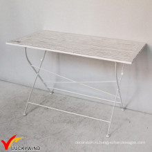Квадратная деревянная плита Vintage Foldable Dining Table
