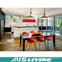 Diseño de muebles de gabinete de cocina de madera modular (AIS-K366)