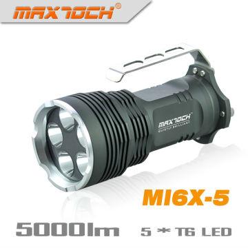 Maxtoch-MI6X-5 5 * Cree XML-T6 LED Griff mächtigsten Taschenlampe