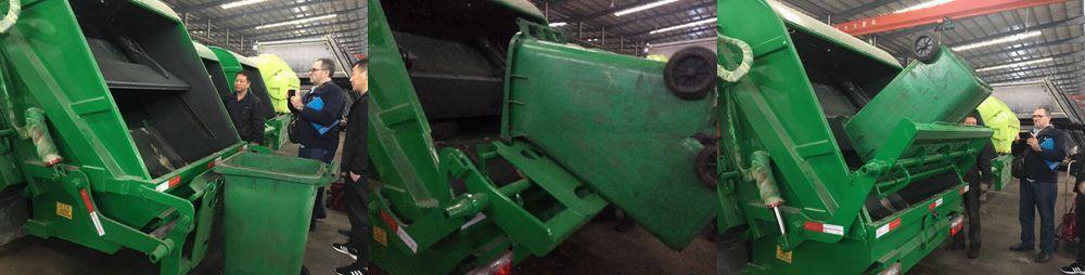 Client Test Garbagecompactor Truck