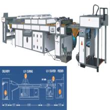 Machine d'enduit UV entièrement automatique ZXL-10001200A