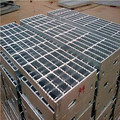 Rostfritt Serrated Steel Grid