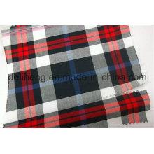 Fashion 100% Polyester Yarn Dyed Checks Fabric for Shorts