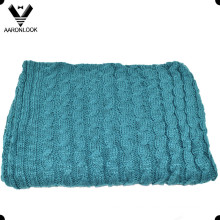 100% Acrylic Thick Cable Thick Throw