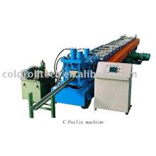 Máquina de conformado en frío C Purlin