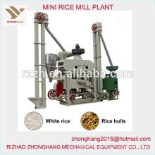 Mini planta de arroz de precio