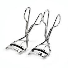Haute qualité mode portable en acier inoxydable poignée cils bigoudi pour friser les cils à des fins esthétiques