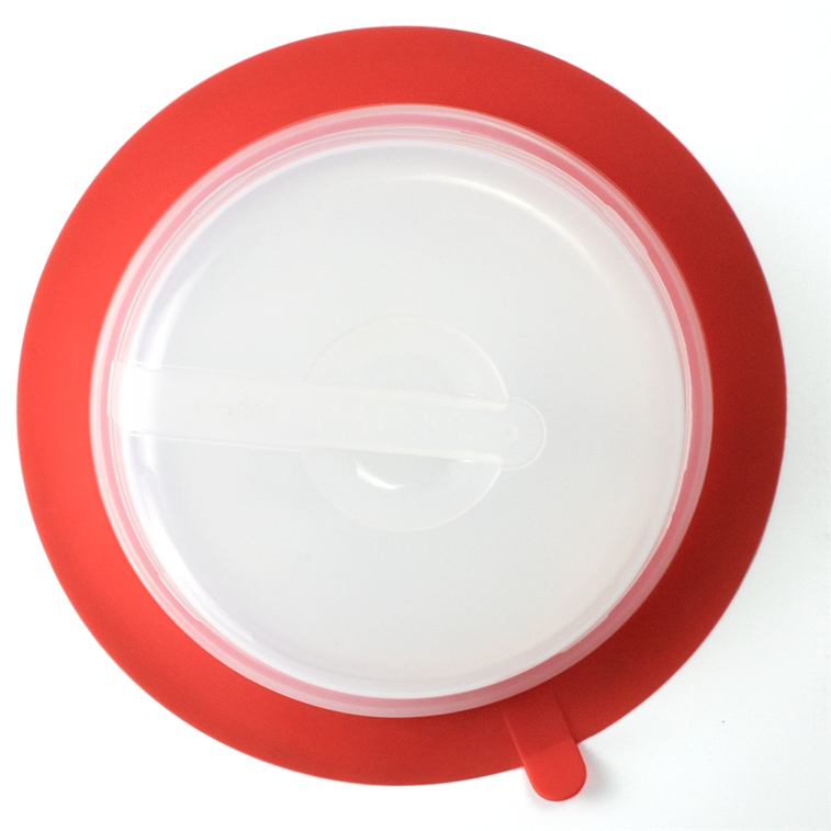 Silicone Collapsible Plate Topper 2