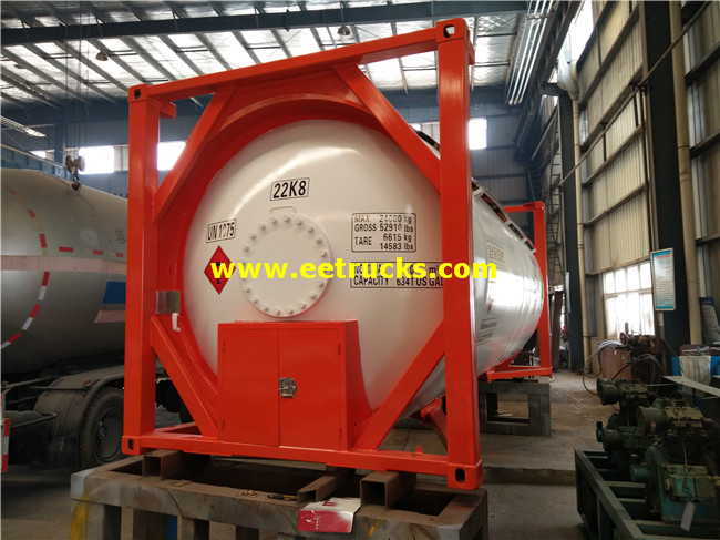 24000 Litres LPG Tank Containers