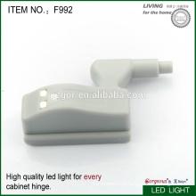 Шарнир мебельного шкафа со светодиодным светом