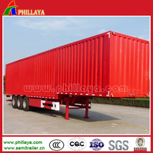 Enclosed Strong Box Van Body Long Vehicle in Semi Trailer