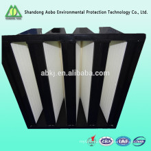 V-банка HEPA фильтр воздуха для жесткой фильтр системы обогрева, вентиляции и кондиционирования воздуха высокое качество самых популярных