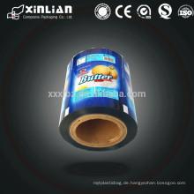 Bedruckte Plastikverpackungsfolienrolle / Verpackungsdruckfolie für Lebensmittelverpackungen