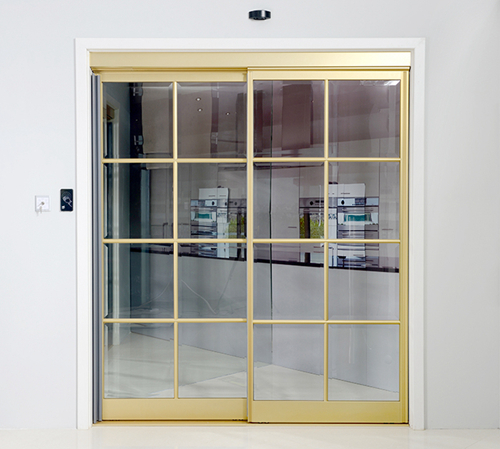 Ningbo GDoor Interactive Sliding Doors with Access Control for Smart Home