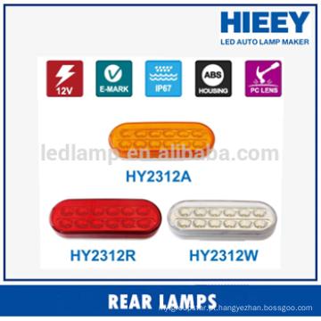 E-MARK LED lâmpada traseira da cauda lâmpada traseira para caminhão e reboque