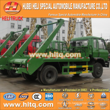 DONGFENG 8cbm arm roll container refuse truck hydraulic lifter garbage truck factory direct quality assurance 4x2
