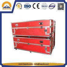 Long Red Aluminum ATA Flight Case & Transport Case (HF-1701)