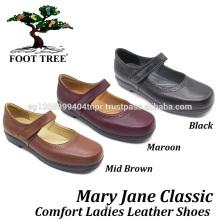 Chaussures d'allaitement Foottree Comfort en cuir 0413