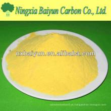 cloreto de polialuminio em pó para tratamento de água potável