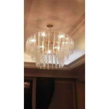 Luces de cristal decorativas de la lámpara del hotel (KAG0002)