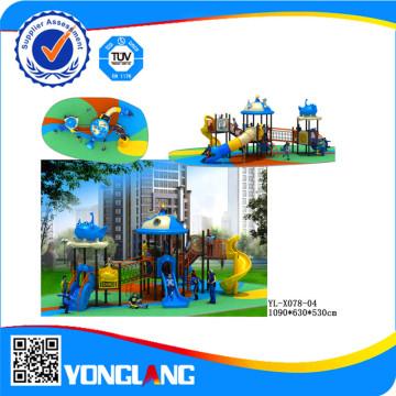 Красочные Открытый восхождение площадка для игры детей