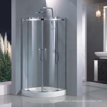 Porte de douche en verre trempé de 8 mm